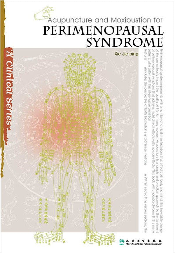 Portada del libro 9787117133982 Acupuncture and Moxibustion for Perimenopausal Syndrome (A Clinical Series)