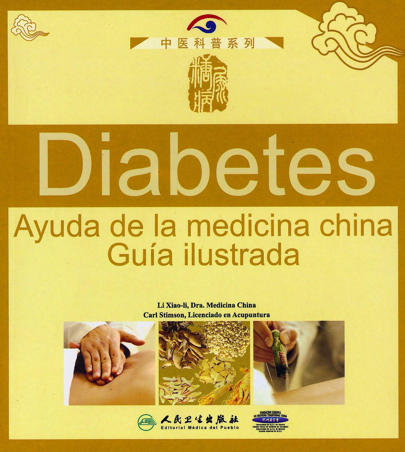 Portada del libro 9787117145053 Diabetes. Ayuda de la Medicina China. Guía Ilustrada
