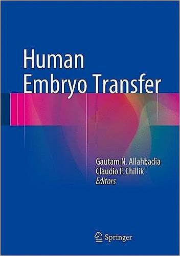 Portada del libro 9788132211143 Human Embryo Transfer