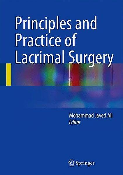 Portada del libro 9788132220190 Principles and Practice of Lacrimal Surgery