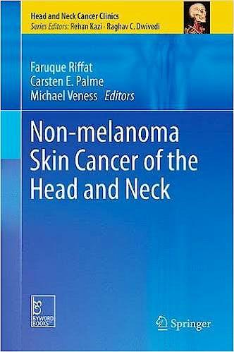Portada del libro 9788132224969 Non-Melanoma Skin Cancer of the Head and Neck (Head and Neck Cancer Clinics)