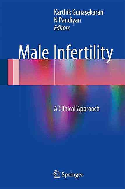 Portada del libro 9788132236023 Male Infertility. a Clinical Approach