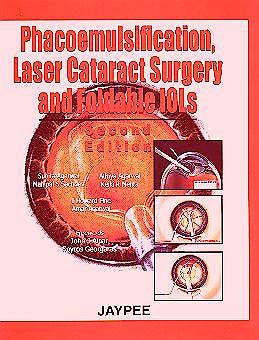 Portada del libro 9788171797608 Phacoemulsification Laser Cataract Surgery and Foldable Iols