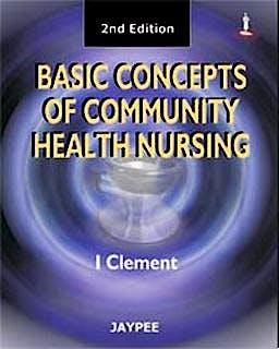 Portada del libro 9788184485455 Basic Concepts Community Health Nursing