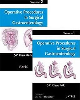 Portada del libro 9788184485691 Operative Procedures in Surgical Gastroenterolgy, 2 Vols.
