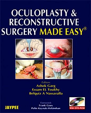 Portada del libro 9788184485967 Oculoplasty and Reconstructive Surgery Made Easy + Dvd-Rom