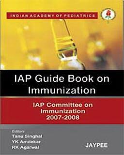 Portada del libro 9788184485981 Iap Guide Book on Immunization