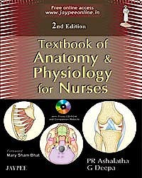 Portada del libro 9788184487589 Textbook of Anatomy and Physiology for Nurses + Cd-Rom