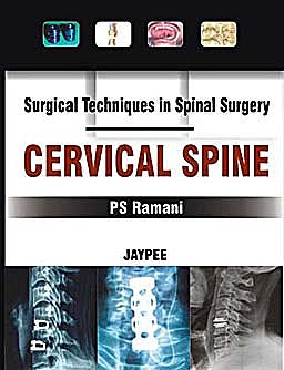 Portada del libro 9788184487824 Surgical Techniques in Spinal Surgery. Cervical Spine