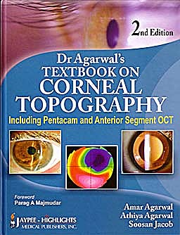 Portada del libro 9788184488616 Dr. Agarwal's Textbook on Corneal Topography (Including Pentacam and Anterior Segment Oct)
