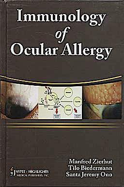 Portada del libro 9788184488630 Immunology of Ocular Allergy
