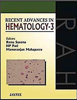 Portada del libro 9788184488883 Recent Advances in Hematology, Vol. 3