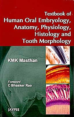 Portada del libro 9788184488920 Textbook of Human Oral Embryology, Anatomy, Physiology, Histology and Tooth Morphology
