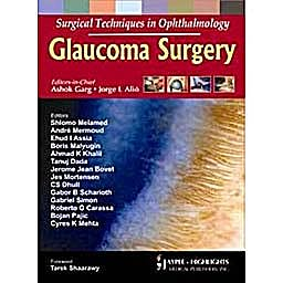 Portada del libro 9788184489583 Surgical Techniques in Ophthalmology. Glaucoma Surgery