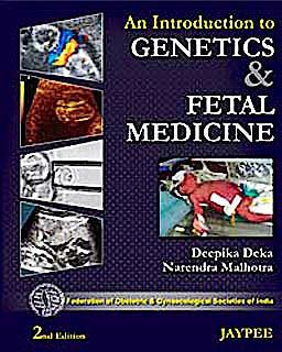 Portada del libro 9788184489606 An Introduction to Genetics and Fetal Medicine