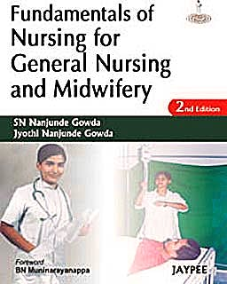 Portada del libro 9788184489774 Fundamentals of Nursing for General Nursing and Midwifery