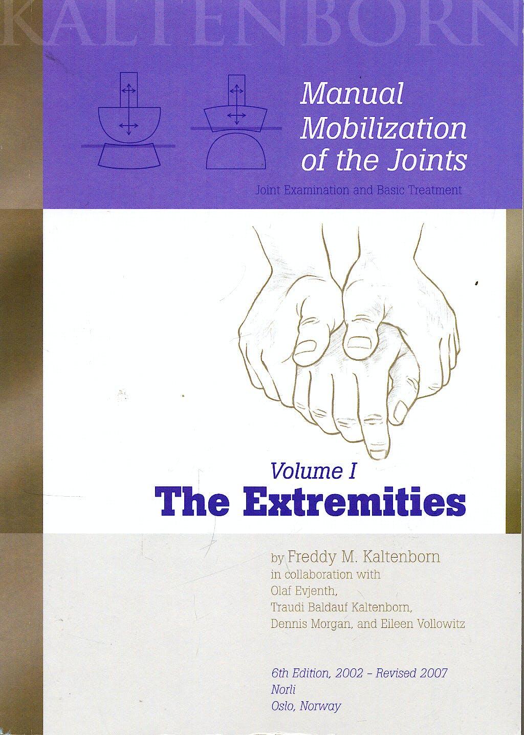 Portada del libro 9788270540433 Manual Mobilization of the Joints, Vol. 1: Extremities