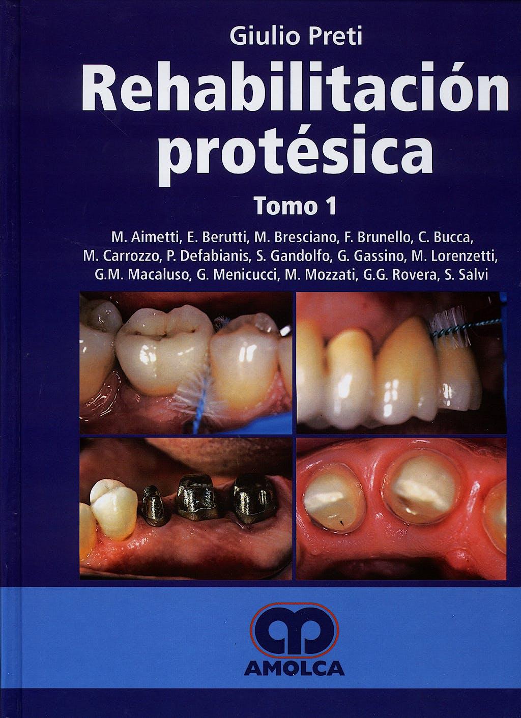 Portada del libro 9788400010669 Rehabilitación Protésica, 3 Vols.