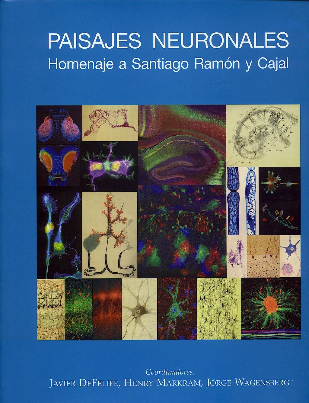 Portada del libro 9788400085339 Paisajes Neuronales. Homenaje a Santiago Ramón y Cajal