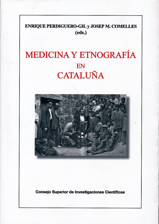 Portada del libro 9788400100193 Medicina y Etnografia en Cataluña