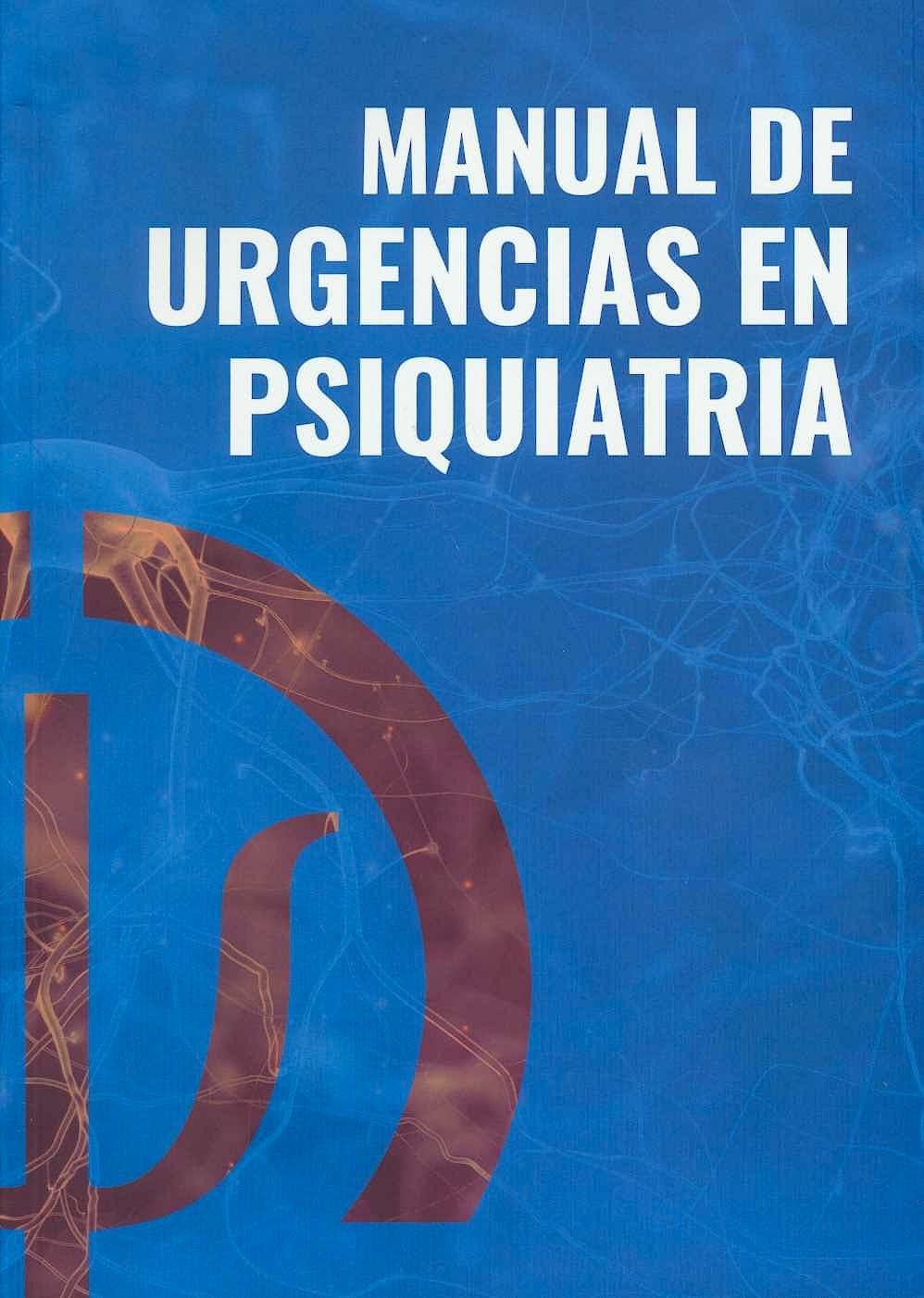 Portada del libro 9788409045457 Manual de Urgencias en Psiquiatría