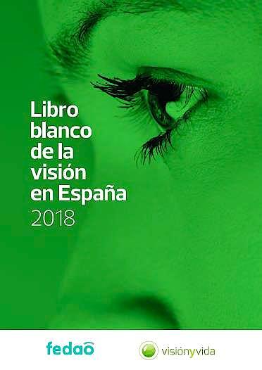 Portada del libro 9788409070725 Libro Blanco de la Visión en España 2018