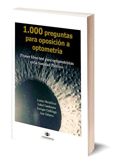 Portada del libro 9788409128280 1.000 Preguntas para Oposición a Optometría