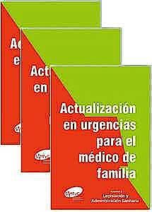 Portada del libro 9788409229260 Actualización en Urgencias para el Médico de Familia, 3 Vols.