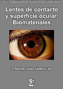 Portada del libro 9788412227215 Lentes de Contacto y Superficie Ocular: Biomateriales