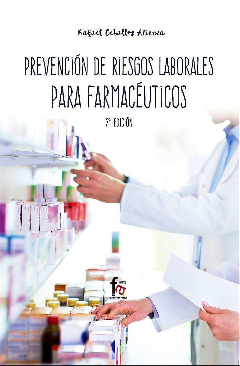 Portada del libro 9788413011592 Prevención de Riesgos Laborales para Farmacéuticos