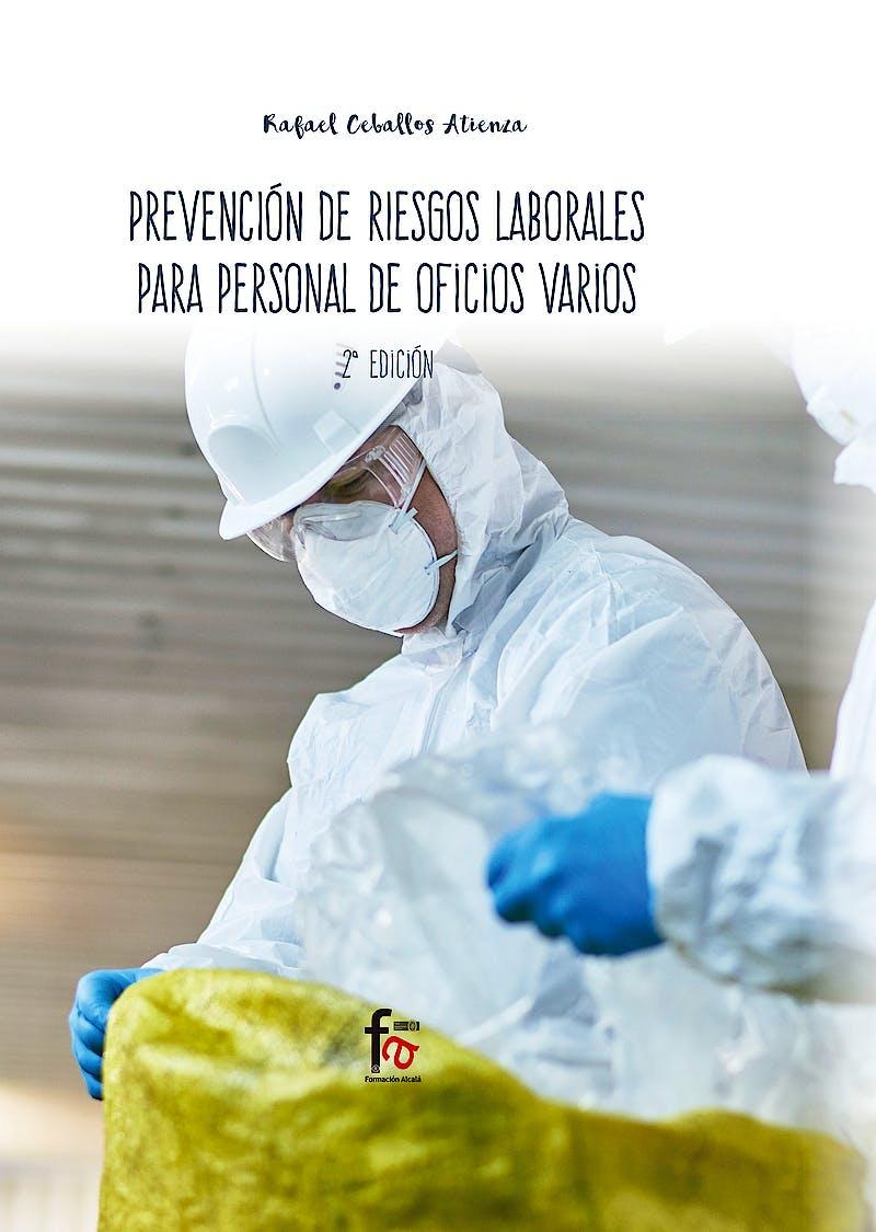 Portada del libro 9788413013190 Prevención de Riesgos Laborales para Personal de Oficios Varios