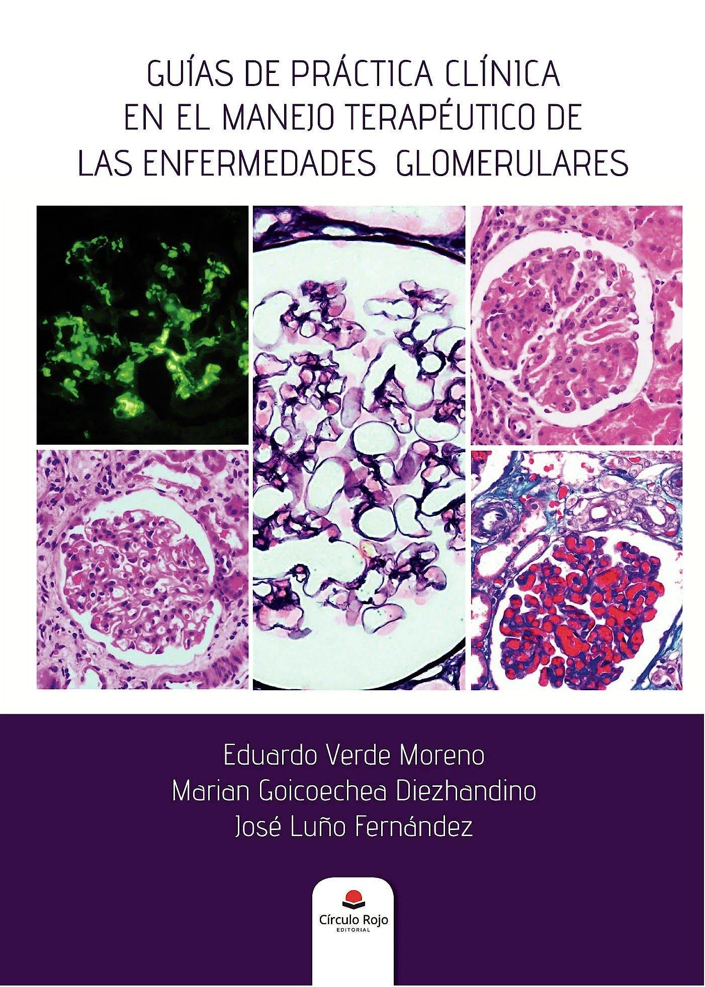 Portada del libro 9788413170824 Guías de Práctica Clínica en el Manejo Terapéutico de las Enfermedades Glomerulares