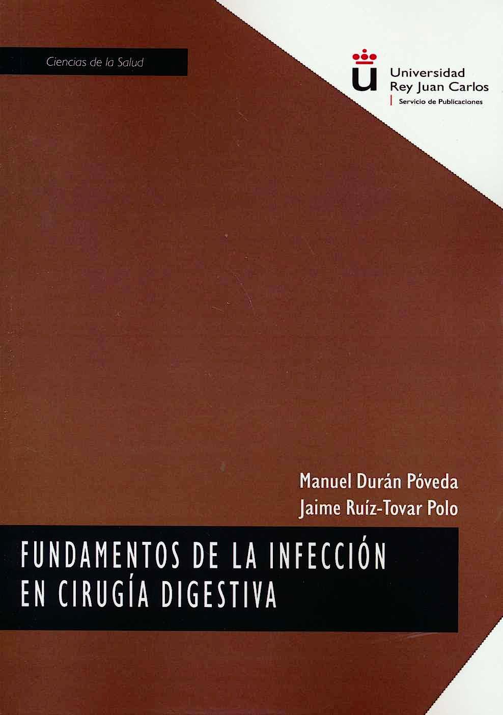 Portada del libro 9788413244518 Fundamentos de la Infección en Cirugía Digestiva