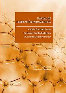 Portada del libro 9788413248073 Manual de Legislación Farmacéutica
