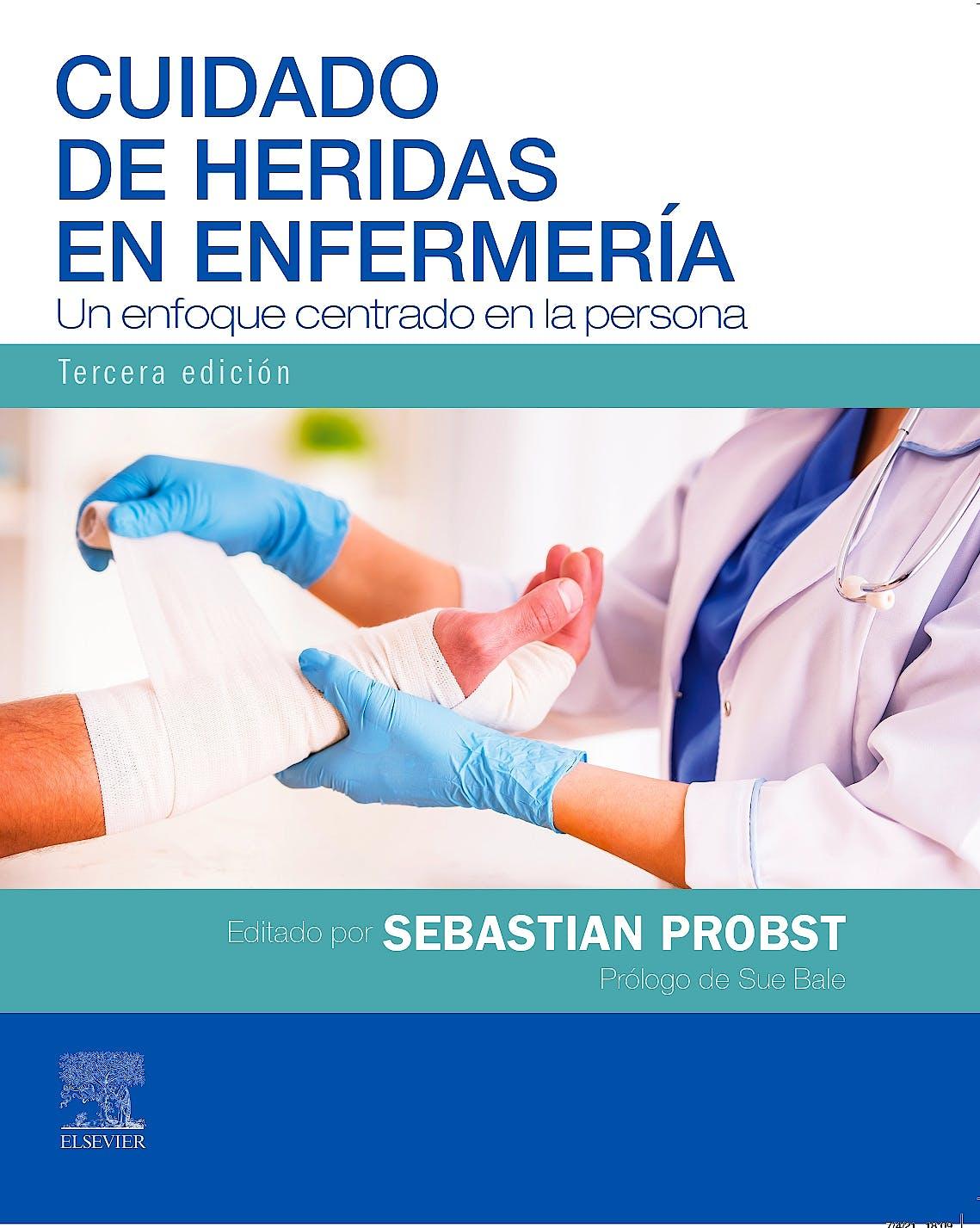 Portada del libro 9788413820156 Cuidado de Heridas en Enfermería. Un Enfoque Centrado en la Persona