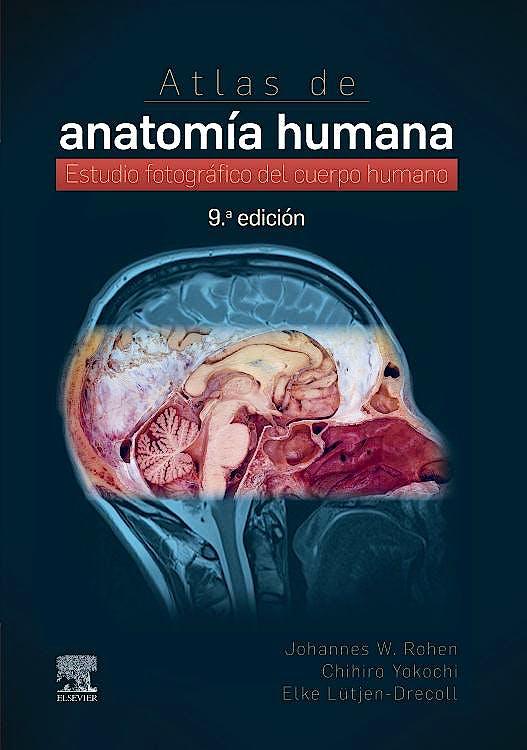 Portada del libro 9788413820330 Atlas de Anatomía Humana. Estudio Fotográfico del Cuerpo Humano