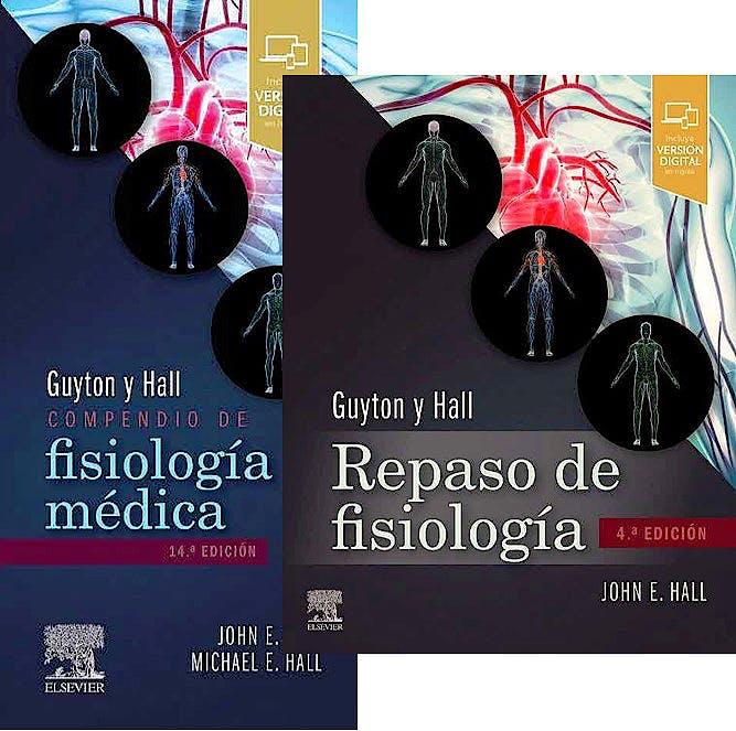 Portada del libro 9788413822648 Lote Guyton y Hall Compendio de Fisiología Médica + Guyton y Hall Repaso de Fisiología