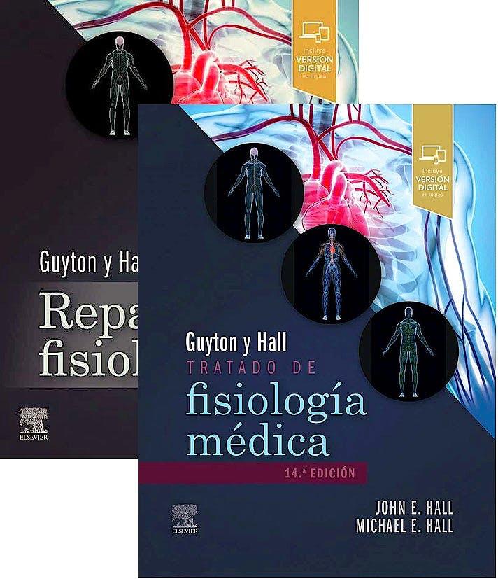Portada del libro 9788413822655 Lote Guyton y Hall Tratado de Fisiología Médica + Guyton y Hall Repaso de Fisiología