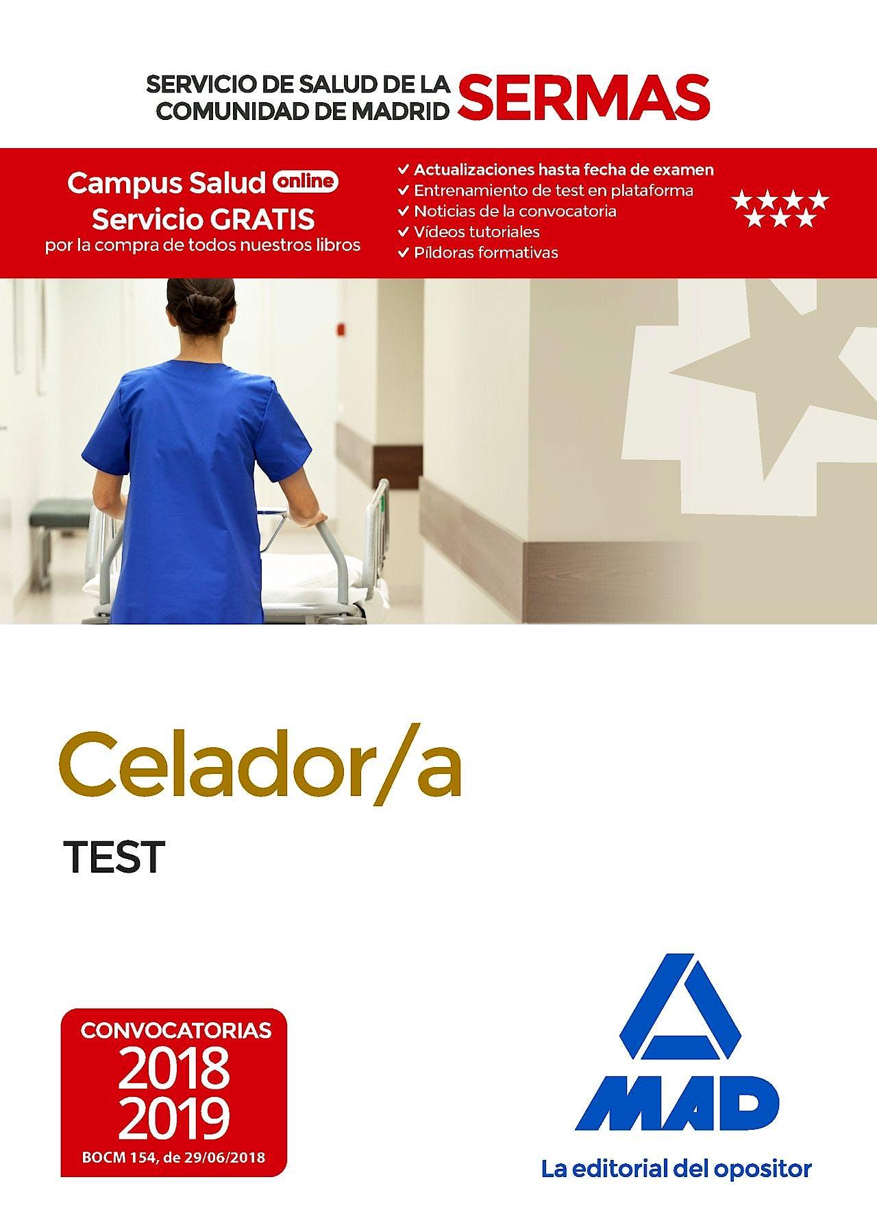 Portada del libro 9788414219324 Celador/a Servicio de Salud de la Comunidad de Madrid (SERMAS). Test