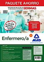 Portada del libro 9788414219348 Paquete Ahorro Enfermero/a Servicio de Salud de la Comunidad de Madrid (SERMAS) (Total 6 Libros e Incluye Acceso a Campus Oro)