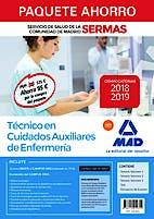 Portada del libro 9788414219355 Paquete Ahorro Técnico en Cuidados Aux. Enfermería Servicio de Salud de la Comunidad de Madrid (SERMAS) (Total 5 Libros e Incluye Acceso a Campus Oro)