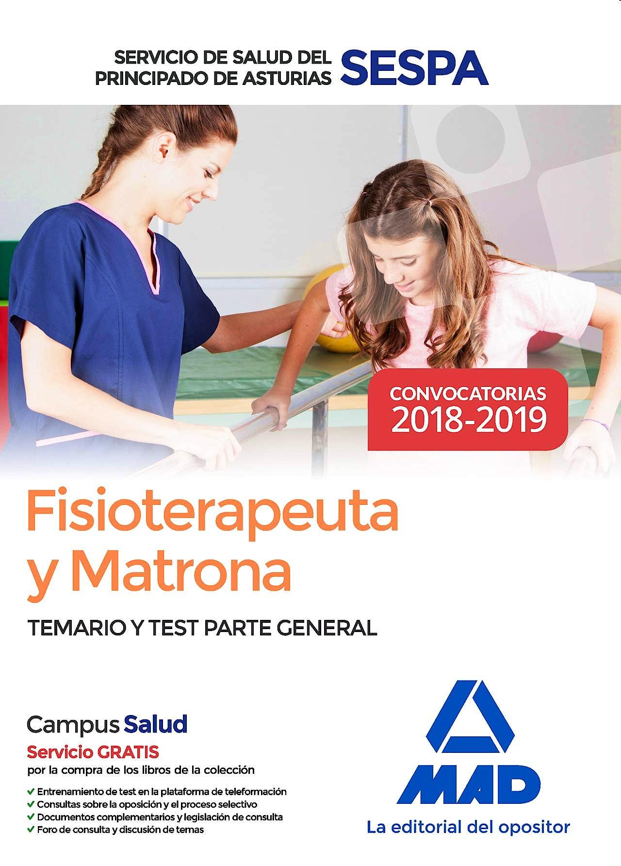 Portada del libro 9788414220290 Fisioterapeuta y Matrona Servicio de Salud del Principado de Asturias (SESPA). Temario y Test Parte General