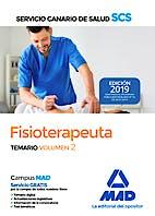 Portada del libro 9788414225523 Fisioterapeuta Servicio Canario de Salud (SCS). Temario, Vol. 2