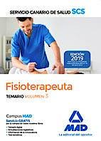 Portada del libro 9788414225530 Fisioterapeuta Servicio Canario de Salud (SCS). Temario, Vol. 3