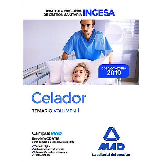 Portada del libro 9788414226148 Celador Instituto Nacional de Gestión Sanitaria (INGESA). Temario, Vol. 1