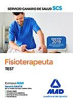 Portada del libro 9788414226216 Fisioterapeuta Servicio Canario de Salud (SCS). Test