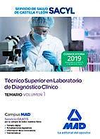 Portada del libro 9788414227480 Técnico Superior en Laboratorio de Diagnóstico Clínico Servicio de Salud de Castilla y León (SACYL). Temario, Vol. 1