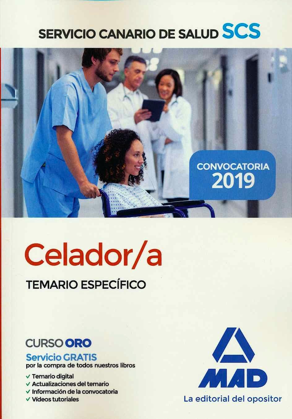 Portada del libro 9788414228036 Celador/a Servicio Canario de Salud (SCS). Temario Específico