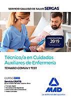 Portada del libro 9788414228715 Técnico/a en Cuidados Auxiliares de Enfermería Servicio Gallego de Salud (SERGAS). Temario Común y Test