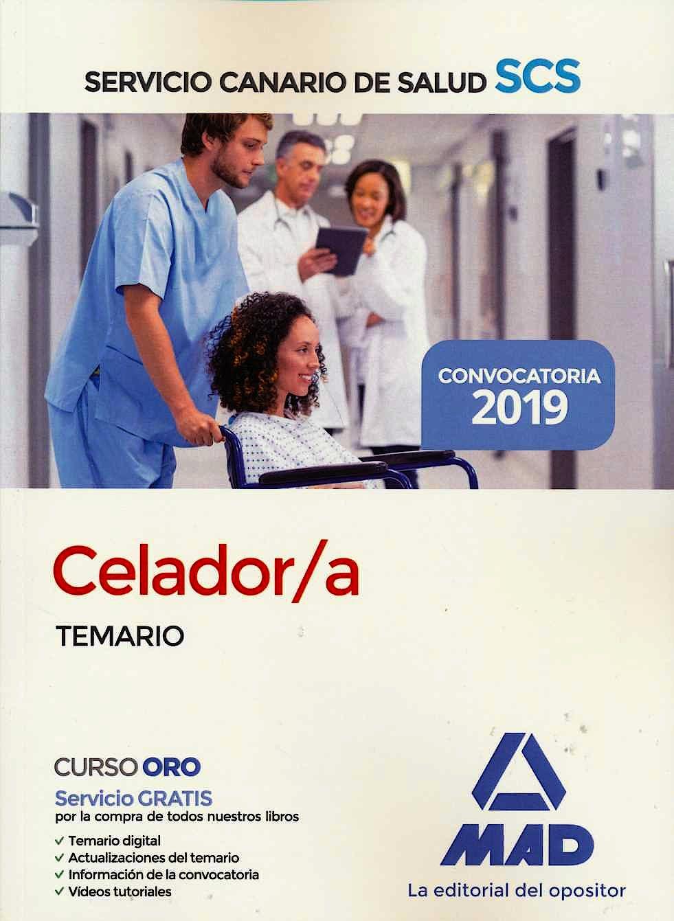 Portada del libro 9788414229323 Celador/a Servicio Canario de Salud (SCS). Temario